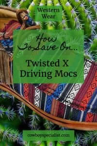 How to save on Twisted X Driving Mocs