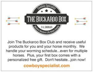 The Buckaroo Box Description Card