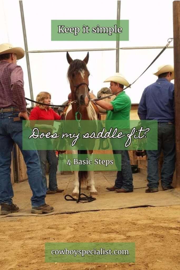 Does my saddle fit? 4 Basic Steps