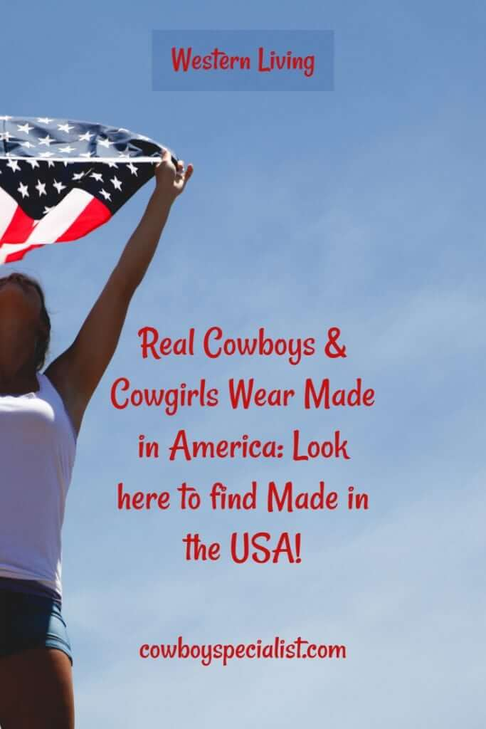 Look here to find Made in the USA!
