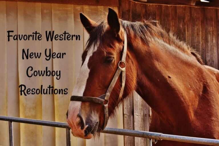 Western New Year Cowboy Resolutions