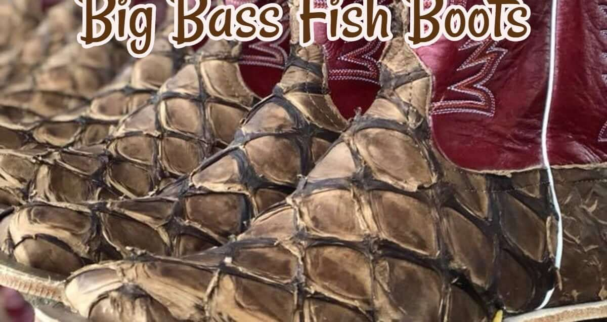 Big Bass Fish Boots: The hottest new trend in cowboy boots