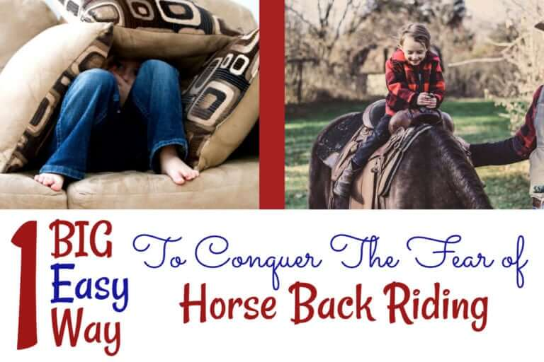 Conquer the fear of riding horses