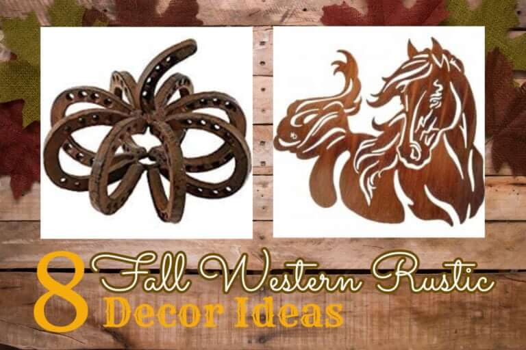 Fall Western and Rustic Decor Items for your home