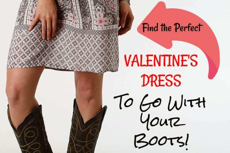 Find the Perfect Valentine's Dress to go with your boots!
